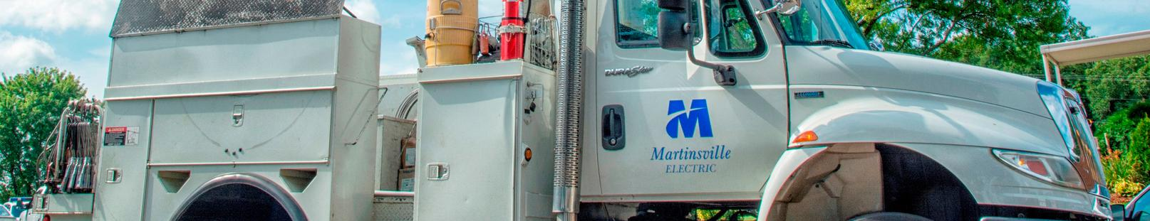 electric line truck